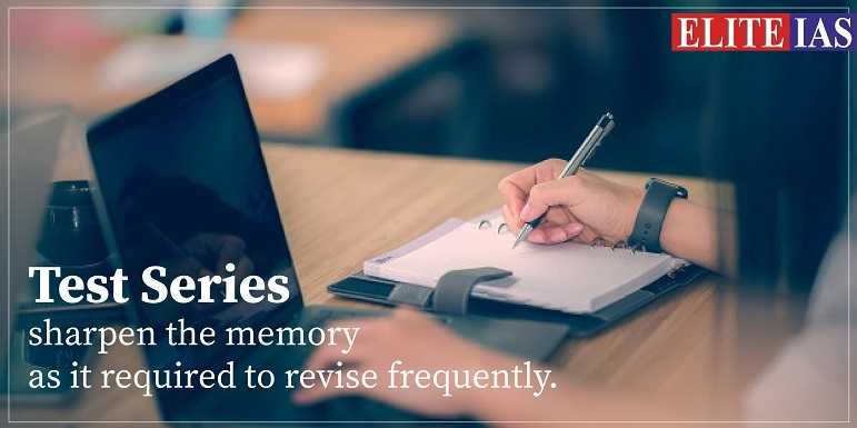 Test Series To sharpen the memory