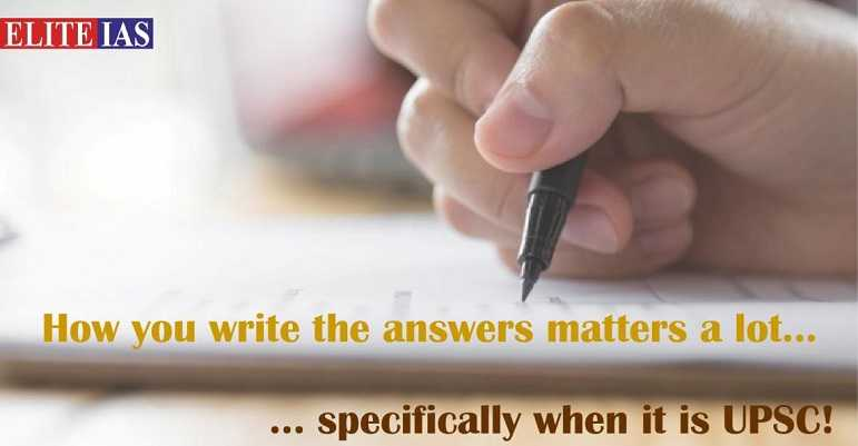 Tips for IAS Mains Answer Writing